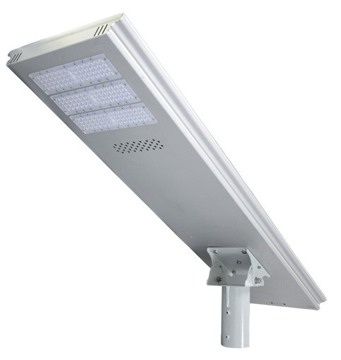 High power smart integrated LED solar street light 80W 8000lumen